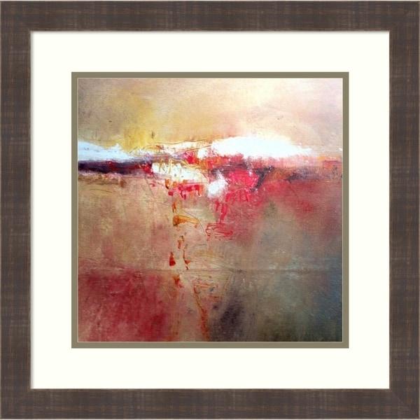 Framed Art Print 'Inception IX' by Stephanie Visser - 20x20-inch