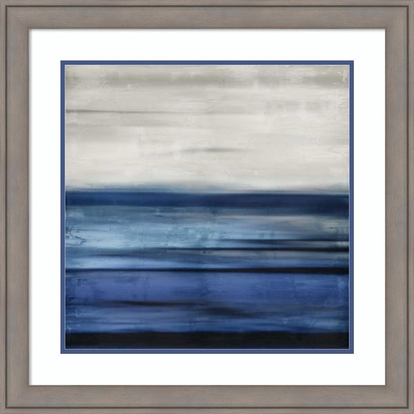 Framed Art Print 'Interlude' by Taylor Hamilton-Outer Size 27x27-inch
