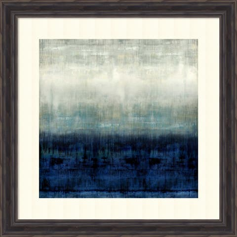 Framed Art Print 'After Glow I' by Taylor Hamilton - 26x26-inch