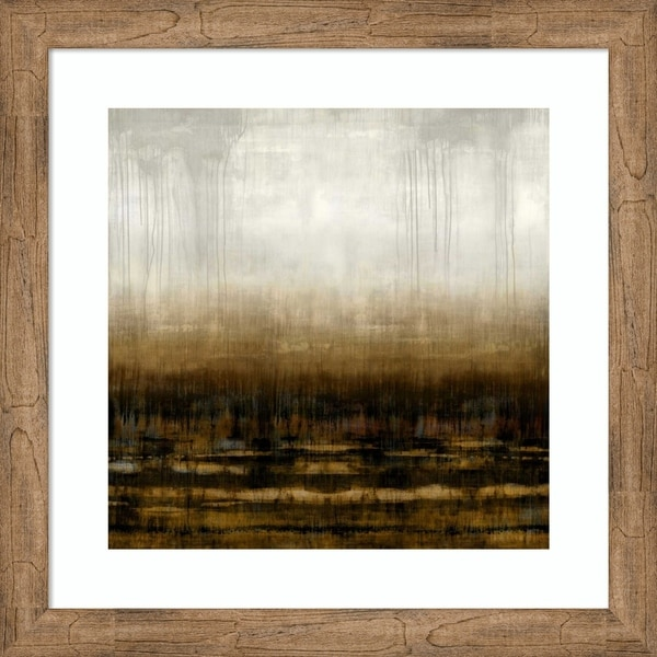 Framed Art Print 'After Glow III' by Taylor Hamilton - 26x26-inch