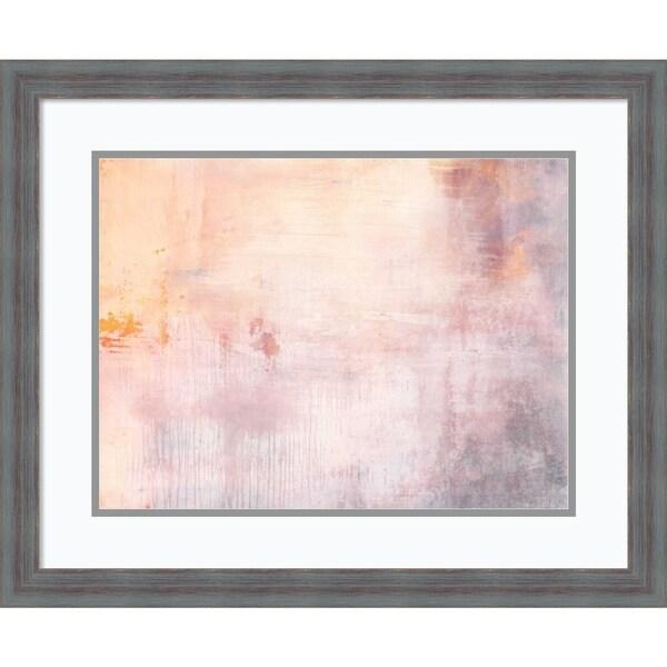 Framed Art Print 'Ernest I' by Michelle Oppenheimer - 25x21-inch