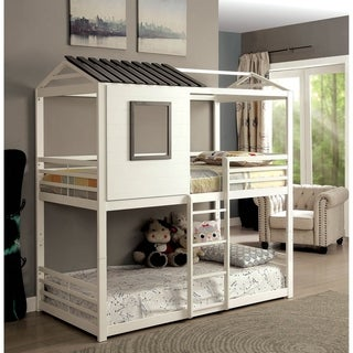 Williams Home Furnishing Stockholm Twin Bed in White Finish