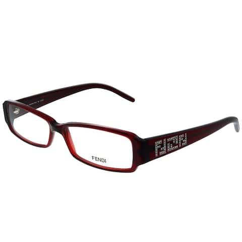Fendi FE 664R 618 53mm Womens Red Frame Eyeglasses 53mm