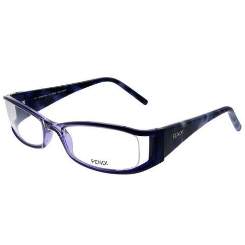 Fendi FE 699 524 51mm Womens Transparent Violet Frame Eyeglasses 51mm