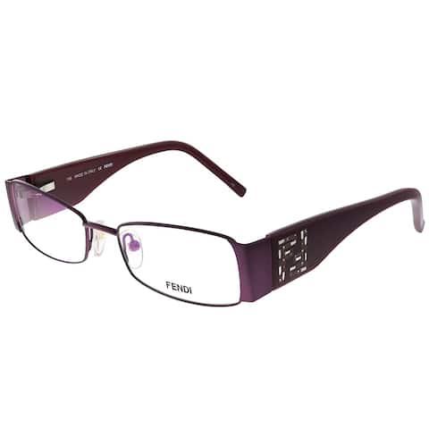 Fendi FE 923R 509 50mm Womens Burgundy Frame Eyeglasses 50mm