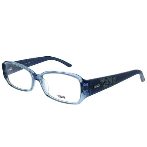 Fendi FE 924 443 52mm Womens Transparent Light Blue Frame Eyeglasses 52mm