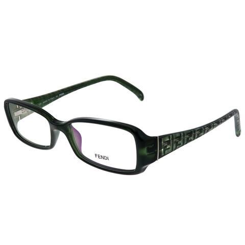 Fendi FE 936 317 52mm Womens Transparent Green Frame Eyeglasses 52mm