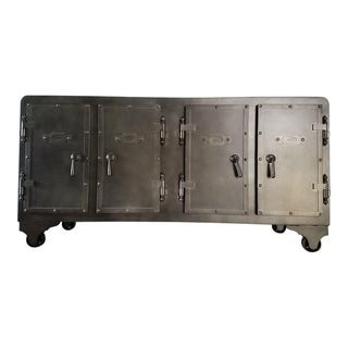 Link to Samata Industrial Metal SideBoard Similar Items in Living Room Furniture