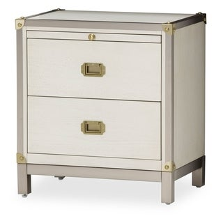Menlo Station Eucalyptus 2-drawer Nightstand
