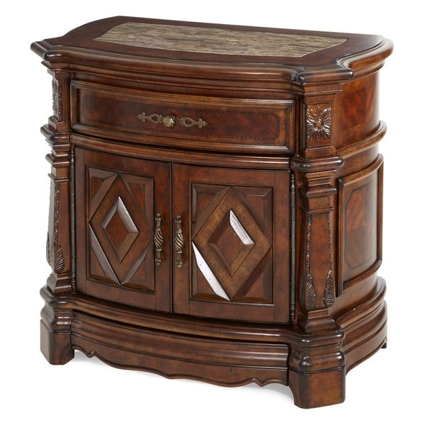 Windsor Court Vintage Fruitwood Night Stand