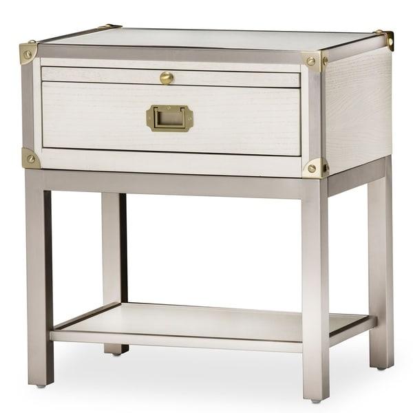 Menlo Station Eucalyptus 1-drawer Nightstand