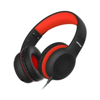 Mpow Kids Headphones Volume Limited Kids Headset with 3.5mm Audio Jack for Children Boys Girls Foldable Wired Headphone