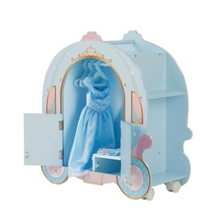 Link to Olivia's Little World - Princess Pumpkin Carriage with Closet and Dress Similar Items in Kids' & Toddler Furniture