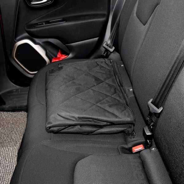 Black Car Front Single Seat Mesh Cover for Auto Car Truck SUV Van