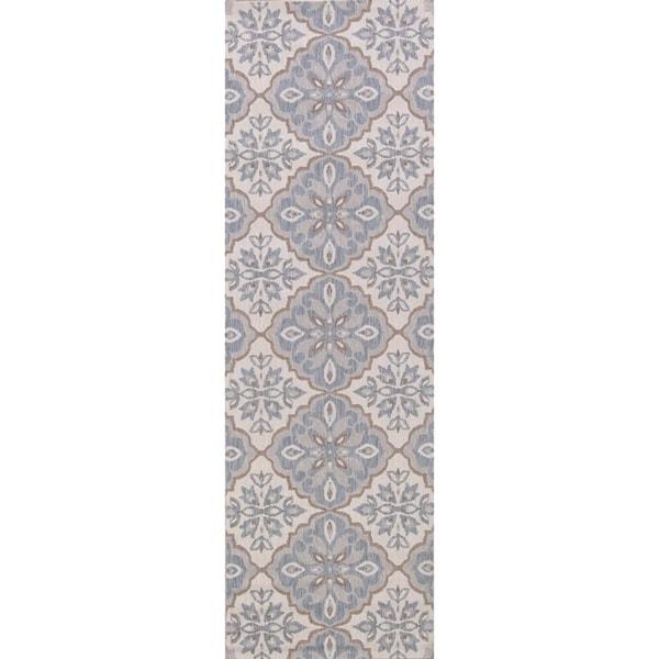 "Oriental Damask Carpet Belgian Transitional Rug For Hallways - 2'6"" X 8' Runner. Opens flyout."