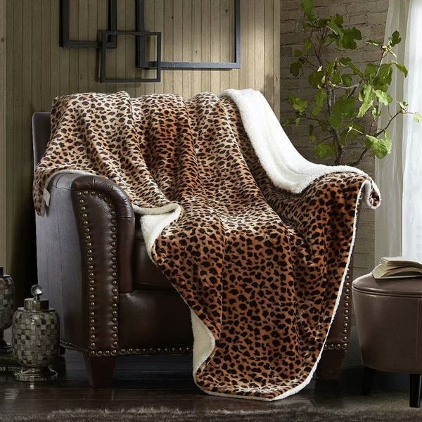 Excellent Shop Merrylife Sherpa Throw Blanket Plush Fleece Couch Cjindustries Chair Design For Home Cjindustriesco