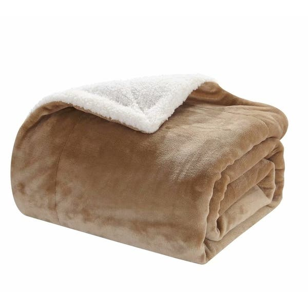 Wondrous Shop Merrylife Sherpa Throw Blanket Plush Fleece Couch Cjindustries Chair Design For Home Cjindustriesco