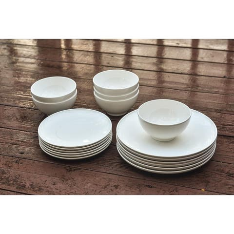 Christopher Knight Collection Simplicity 18Pc Dinner Set - N/A