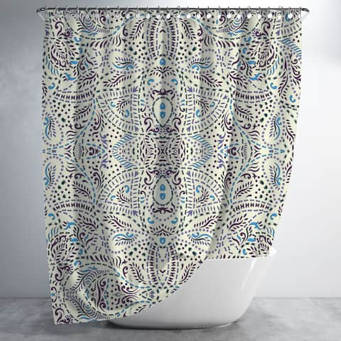 Free People Luxury Shower Curtain by Amrita Sen