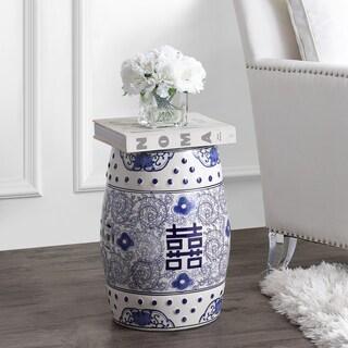 Shop Safavieh Dragon S Breath Chinoiserie Blue Garden