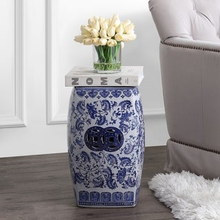 Shop Safavieh Dragon S Breath Chinoiserie Blue Ceramic