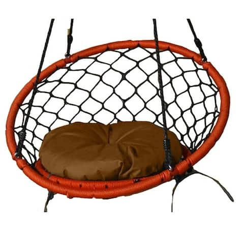 Khaki Small Dreamcatcher Swing Cushion