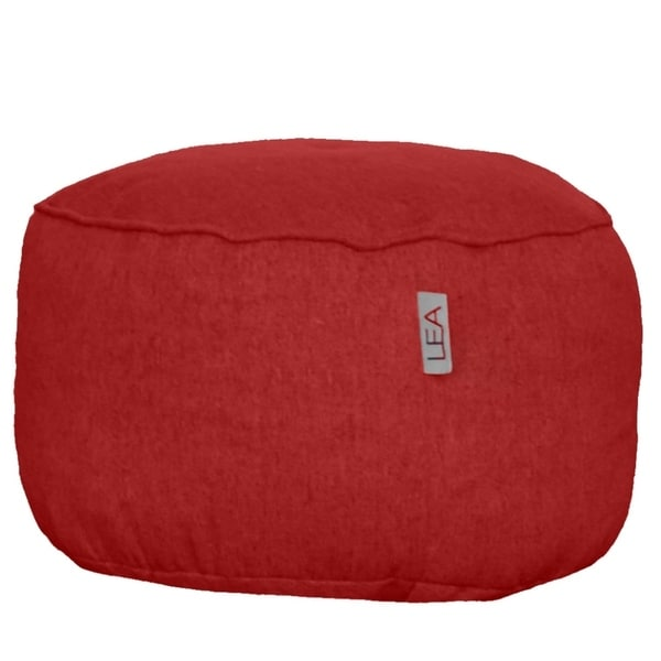 Berry Red Slumber Nest Ottoman. Opens flyout.