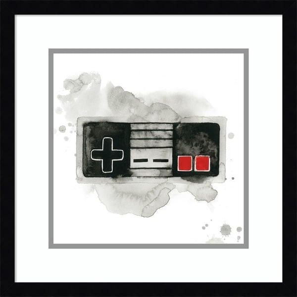 Framed Art Print 'Gamer I' by Grace Popp