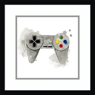 Framed Art Print 'Gamer III' by Grace Popp