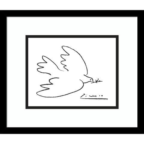 Porch & Den Pablo Picasso 'Dove of Peace' Framed Art Print