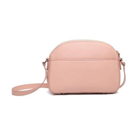 Remmy Leather Crossbody Bag