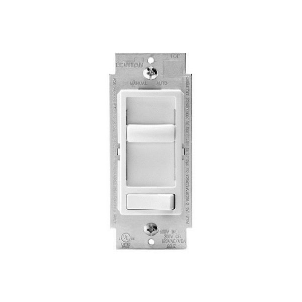 Leviton Decora Sure-Slide Light Dimmer (White). Opens flyout.