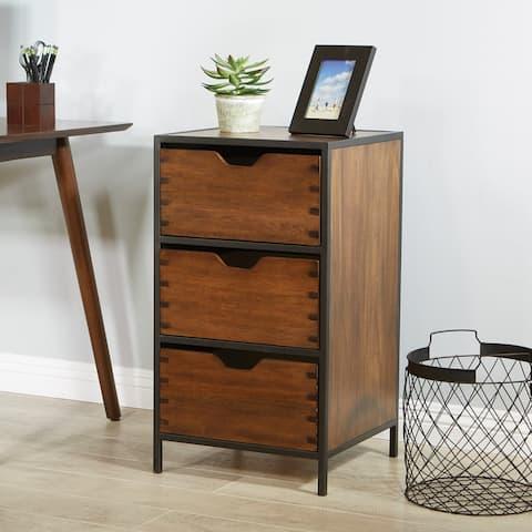 Carbon Loft Maloney 3-drawer Storage Cabinet