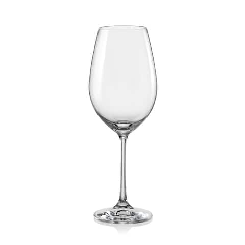 Christopher Knight Collection White Wine Glass Set of 6 - N/A