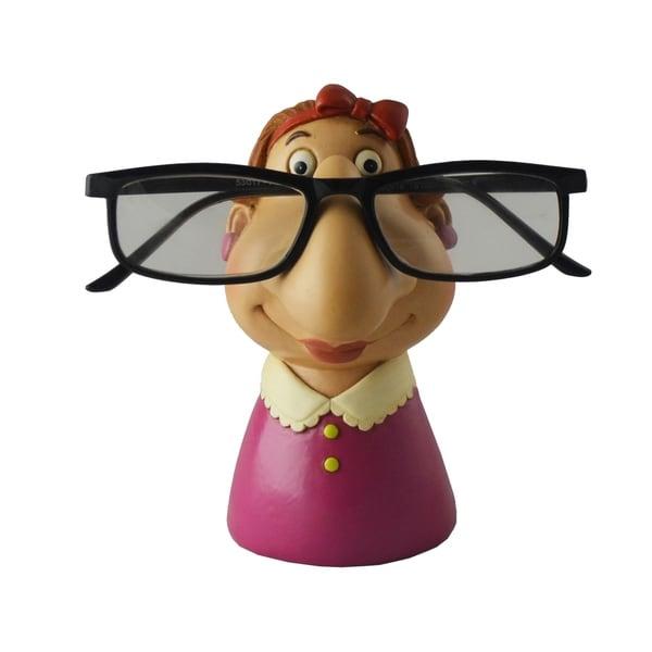 Grandma Eyeglass Holder, Funny Figurine Tabletop Decor Accessory
