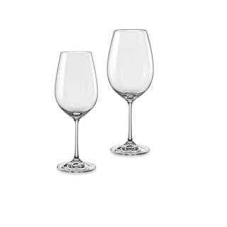 Christopher Knight Collection White and Red Wine Glass Set 12 Pieces