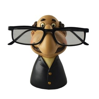 Grandpa Eyeglass Holder, Funny Figurine Tabletop Decor Accessory