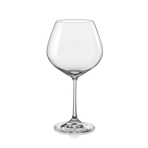 Christopher Knight Collection Burgundy Wine Glass 19oz Set of 6