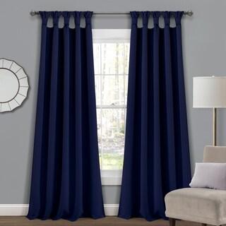 The Gray Barn Blazing Pitchforks Blackout Window Curtain Panel Pair