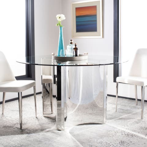 Safavieh Couture Aiza Gold Brushed Dining Table
