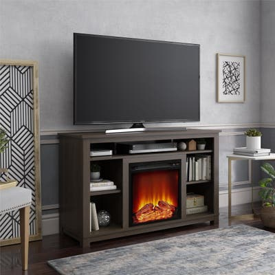 Porch & Den Arborview Fireplace TV Stand for TVs up to 55 inches - N/A