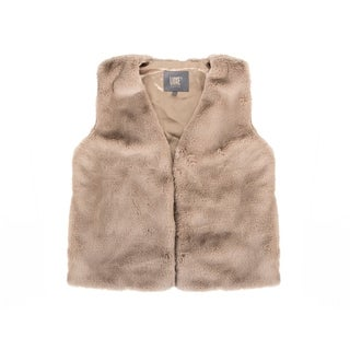 Link to Faux R  Vest - tan size s Similar Items in Tops