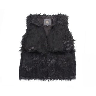Link to Faux  Vest - black size xs Similar Items in Tops