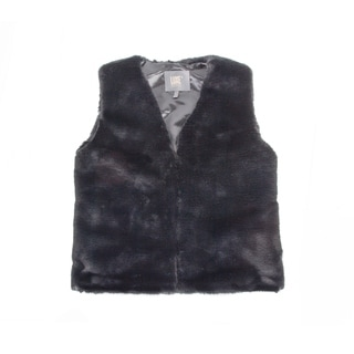 Link to Faux R  Vest - black size xs Similar Items in Tops