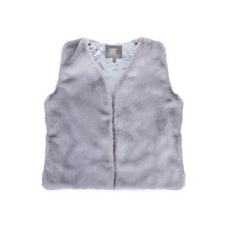 Link to Faux R  Vest - grey size s Similar Items in Tops