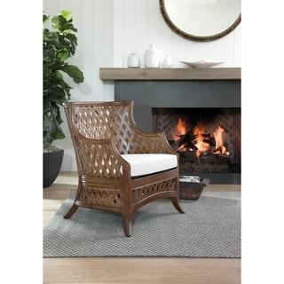 Copper Grove Ansfelden Hand-woven Rattan Chair