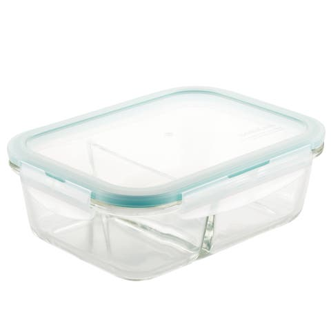 Lock and Lock Purely Better Glass Rectangular Food Storage Container