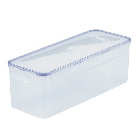 Easy Essentials Pantry Bread Box and Divided Food Storage Container