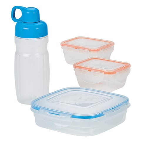 Easy Essentials On the Go Meals Lunch Container Set, 8pc