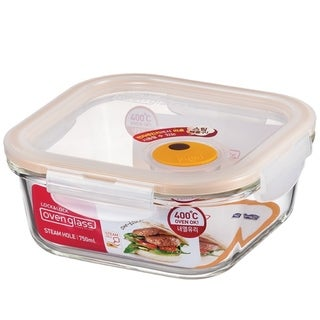 Lock and Lock Purely Better Vented Glass Food Storage Container, 26oz